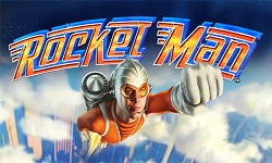 Dotard vrs. Rocket man i form av en spilleautomat